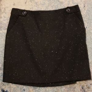 NWT The Limited Outback Red Tweed Skirt